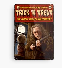 Trick 'r Creep Metal Print
