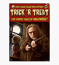 Trick 'r Creep Photographic Print
