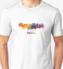 Halifax skyline in watercolor Unisex T-Shirt