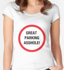 Great Parking Women's Fitted Scoop T-Shirt