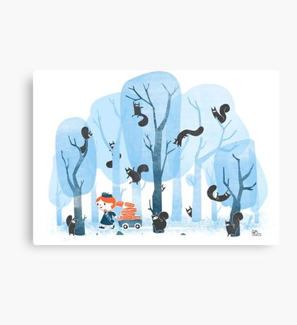 Squinjas! Canvas Print