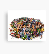 Amiga Game Characters Canvas Print