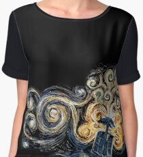 Doctor Who Women's Chiffon Top