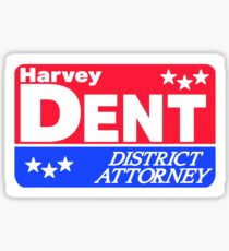 Pegatina Yo creo en Harvey Dent