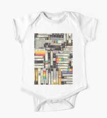 80´S VHS TAPES One Piece - Short Sleeve