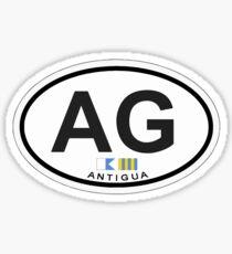 Antigua. Sticker
