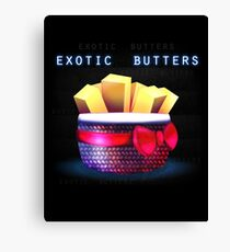 Exotic Butters Canvas Print
