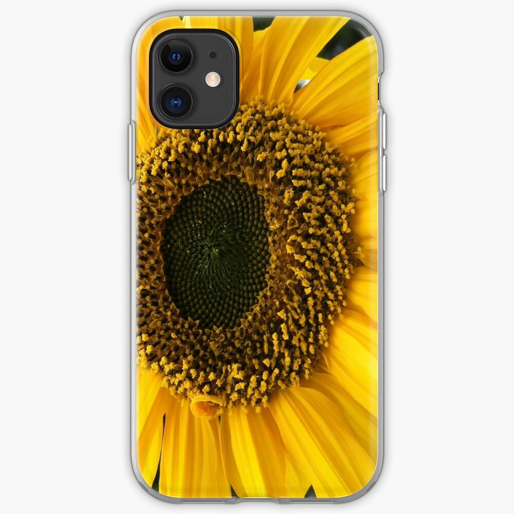 SUNFLOWER SEEDS AND PETALS iPhone Case & Cover