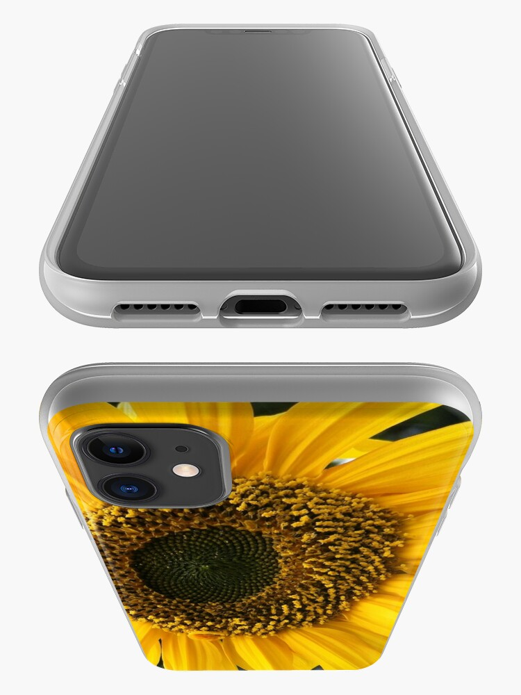 Alternate view of SUNFLOWER SEEDS AND PETALS iPhone Case & Cover