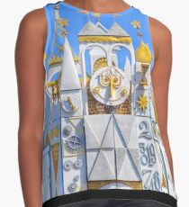 it's a small world Contrast Tank