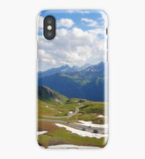 Grossglockner road in Austria iPhone Case