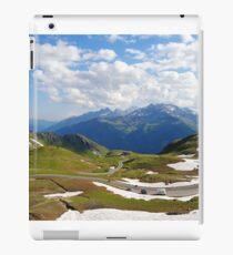 Grossglockner road in Austria iPad Case/Skin
