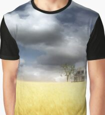 Wheat Field Graphic T-Shirt