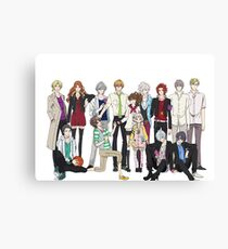 Brother's Conflict Canvas Print