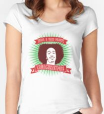 Very Merry Ludachristmas Women's Fitted Scoop T-Shirt