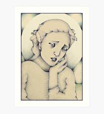 """The Angel of Silence"" Art Print"