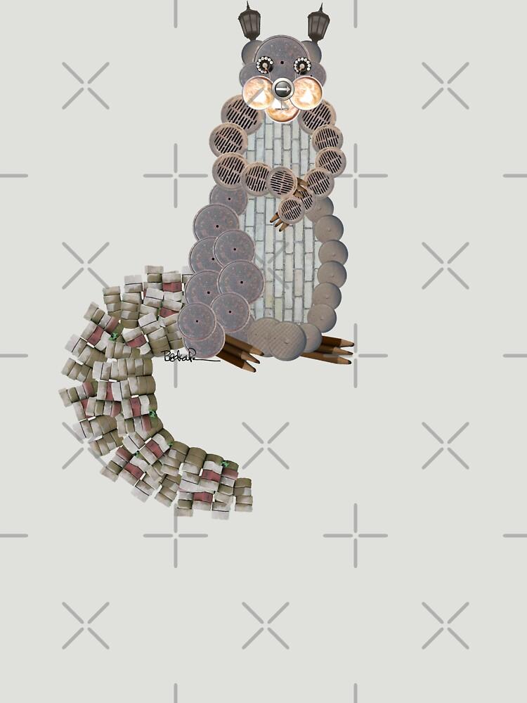 Busy Body Squirrel by beckarahn