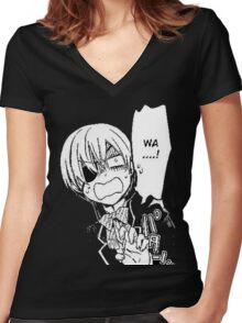 Ciel WHAT Women's Fitted V-Neck T-Shirt