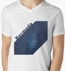 Island of Bermuda Atlantic Ocean Satellite Image T-Shirt