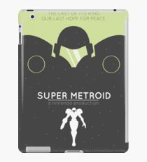 Vinilo o funda para iPad Super Metroid: cartel retro