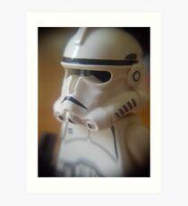 Clone Trooper Art Print
