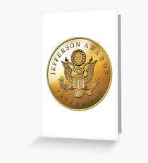 JAF Medallion Greeting Card