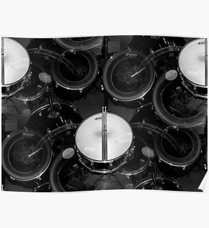 My favorite thing in the world..drums everywhere..☺☺☺☺☺ Poster