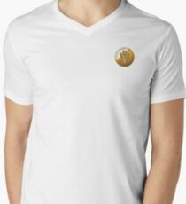 JAF Medallion Men's V-Neck T-Shirt