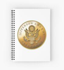 JAF Medallion Spiral Notebook