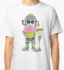 Birthday Cupcake Bake Bot Classic T-Shirt
