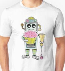 Birthday Cupcake Bake Bot Unisex T-Shirt