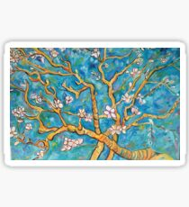 Impressions of Almonds in Bloom Sticker