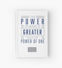 The Power of Many is Greater than the Power of One- Belief Statement Hardcover Journal