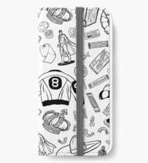 Seinfeld Pattern iPhone Wallet/Case/Skin