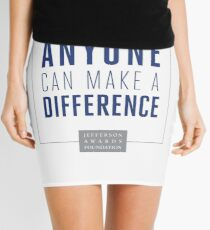 Anyone Can Make a Difference Mini Skirt