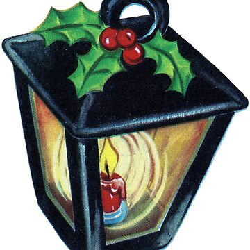 Retro Christmas Lantern  by hiway9