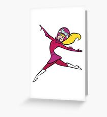 Penelope Pitstop Greeting Card