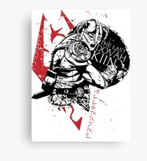 The Last Dovahkiin Canvas Print