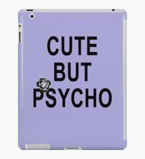 Cute but Psycho Black Rose iPad Case/Skin