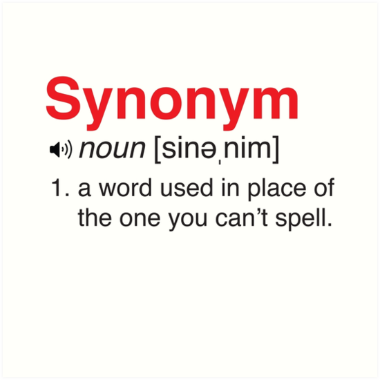 Funny Synonym Definition By Trends