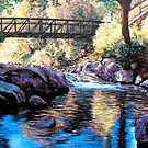 Boulder Creek Bridge - Late Afternoon by Tom Roderick