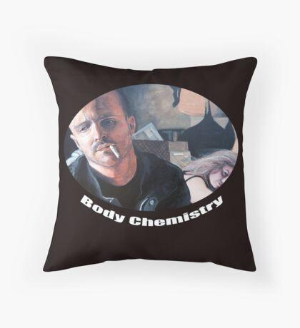 Body Chemistry Throw Pillow