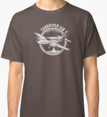 Sandpiper Air Shirt From TV Show Wings Classic T-Shirt