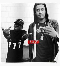 JCole & Kendrick Lamar Poster