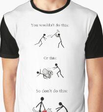 Service Dog PSA Graphic T-Shirt