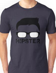 Cool Retro Hipster Glasses Design Unisex T-Shirt