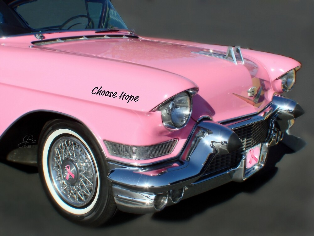 """Cruizin For A Cure"" by Gail Jones"