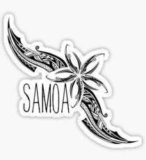 SAMOA - Flowers Sticker