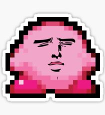HD Kirby SUCC Sticker