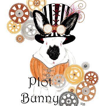 Plot Bunny - Steampunk by ArtbyMinda